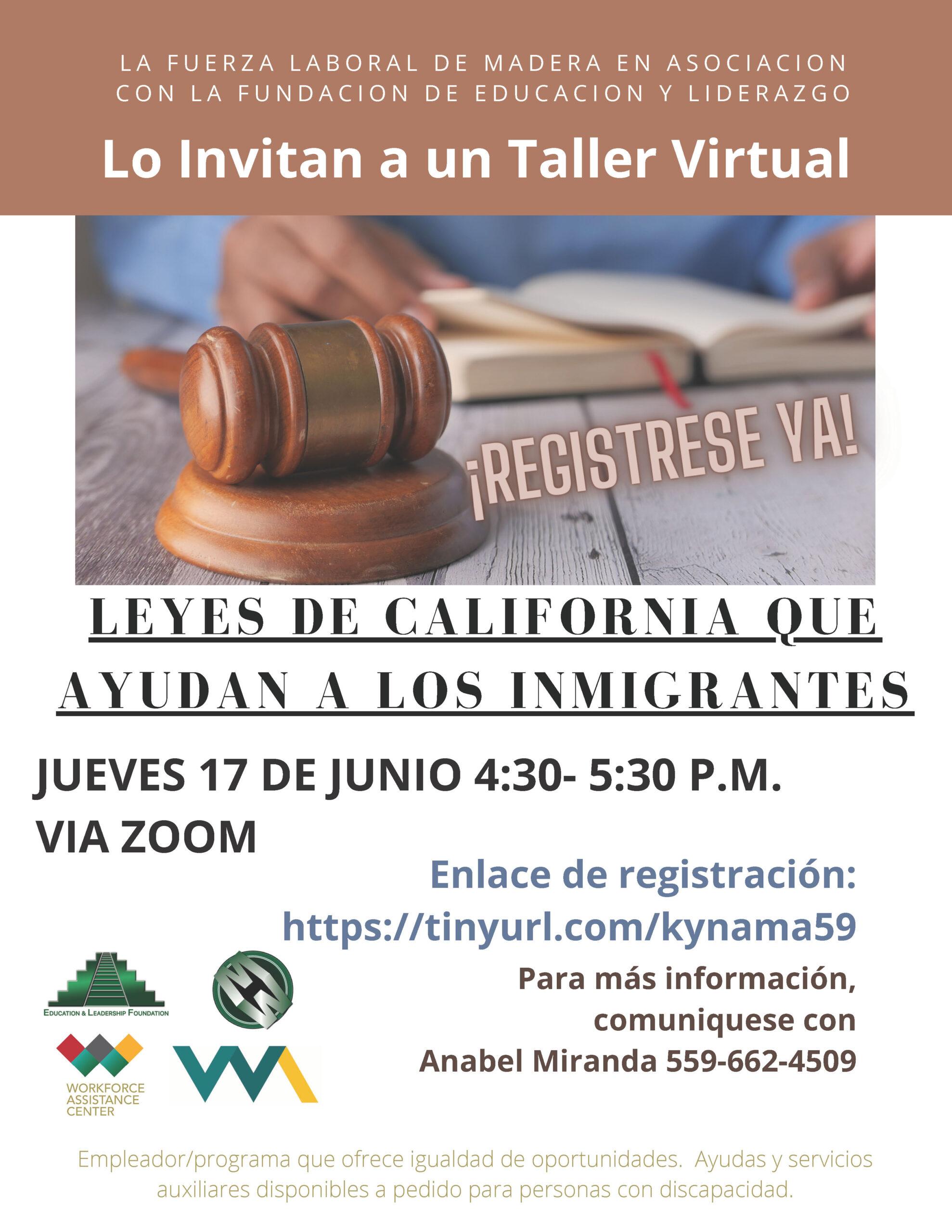 Immigrant Workshop (Spanish)